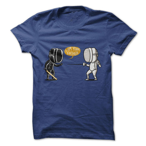 Camiseta Star Wars - I'm your father Azul / P - Camisetas Net - 1