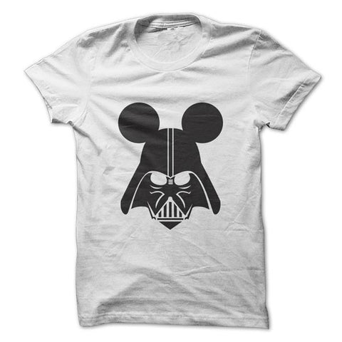 Camiseta Darth Vader Mouse Branca / P - Camisetas Net - 2