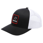 Black/White Bear Mountain Patch Logo Mesh Trucker