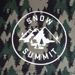 Forest Snow Summit Sweatshirt Blanket