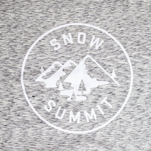 Salt and Pepper Snow Summit Sweatshirt Blanket