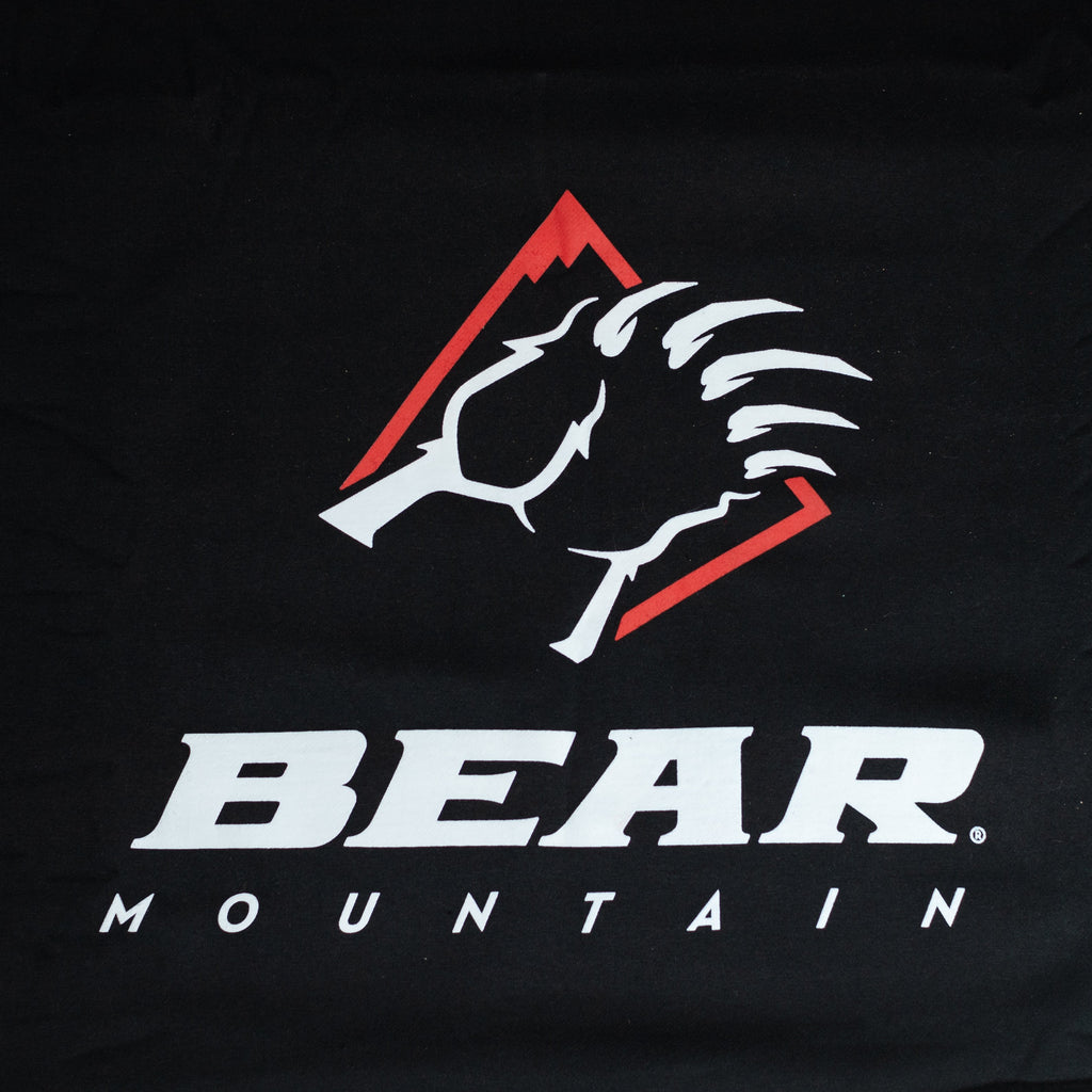 Black Bear Mountain Sweatshirt Blanket