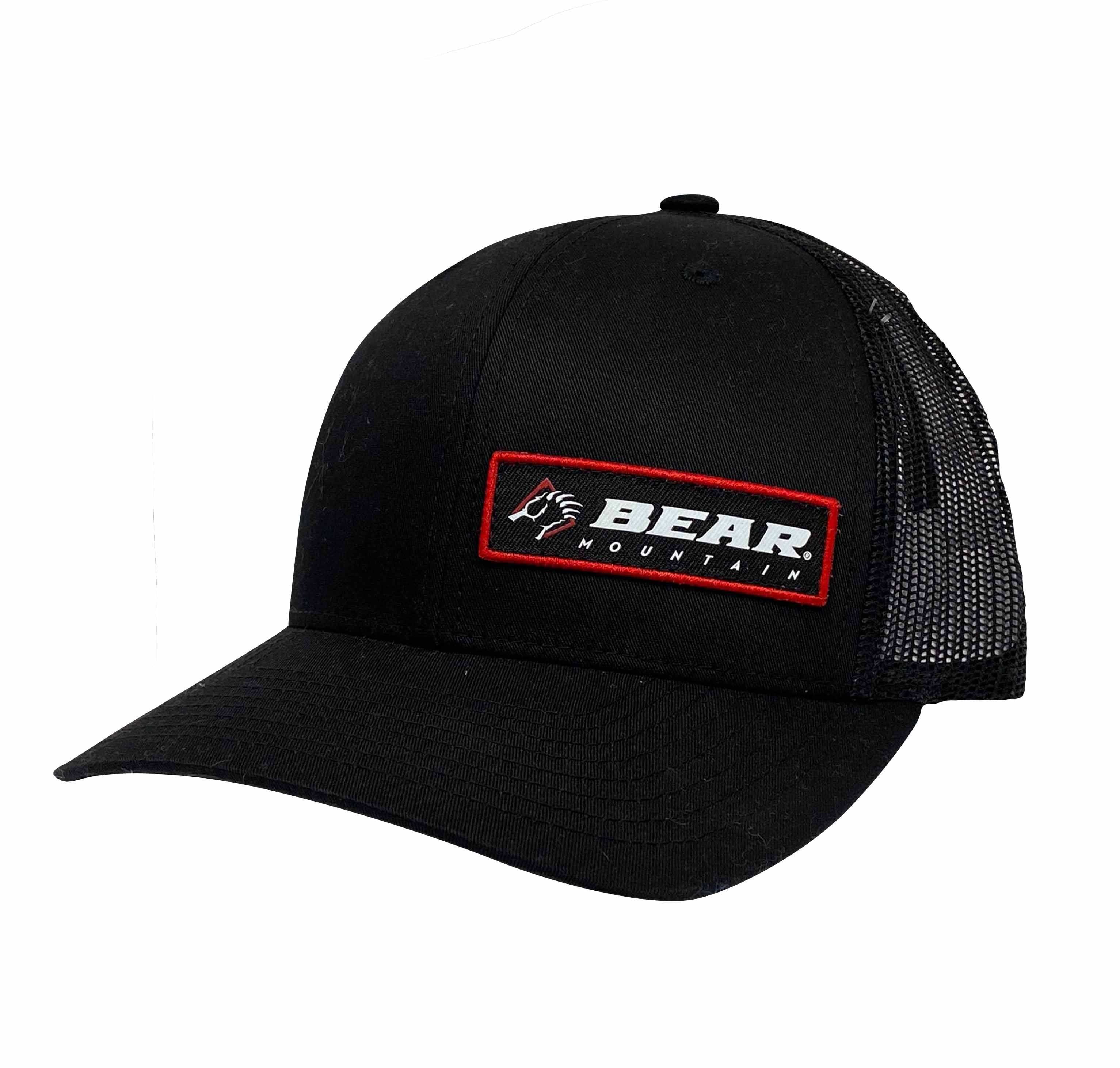 Black Bear Mountain Claw Logo Patch Trucker