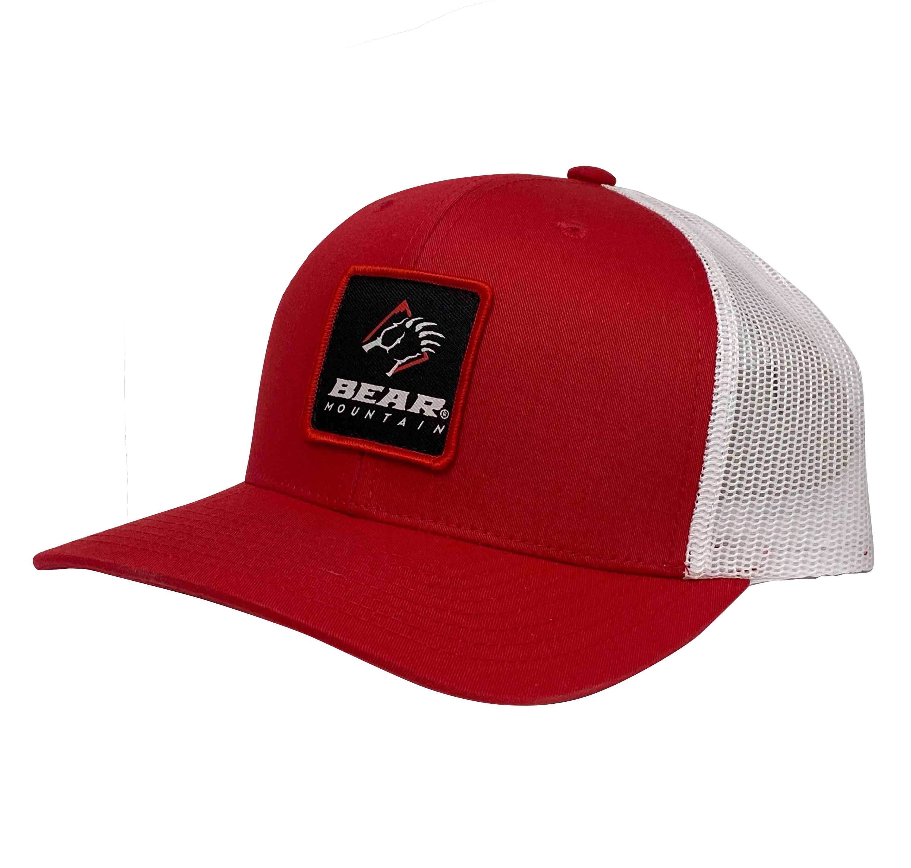 Red Bear Mountain Patch Logo Mesh Trucker
