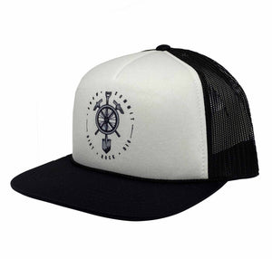 White and Black Snow Summit branded trucker hate