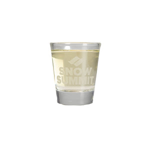 Snow Summit Shot Glass