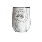 Marble Snow Summit Alpine Corkcicle Stemless
