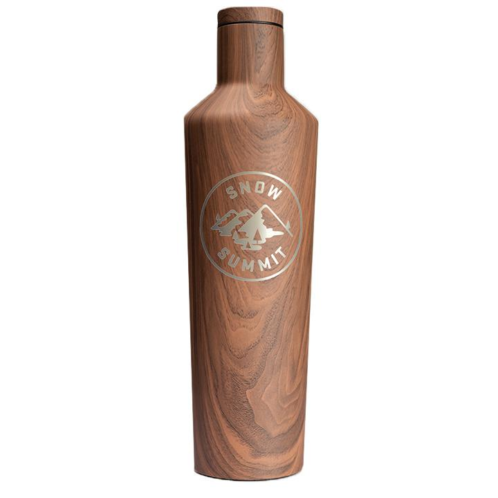 Wood Snow Summit Alpine 16oz Corkcicle Canteen