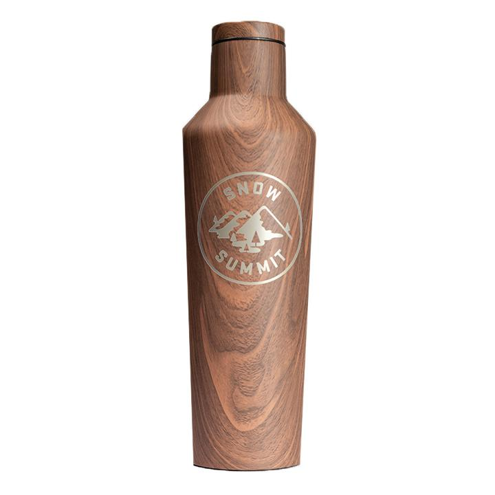 Wood Snow Summit Alpine 25oz Corkcicle Canteen
