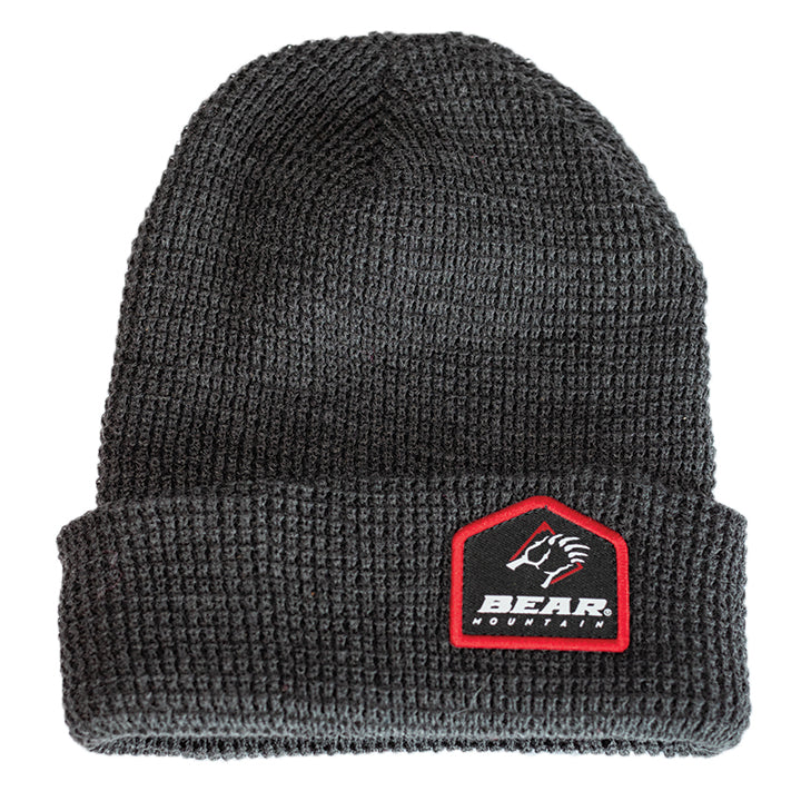Bear Mountain Patch Logo Claw Beanie
