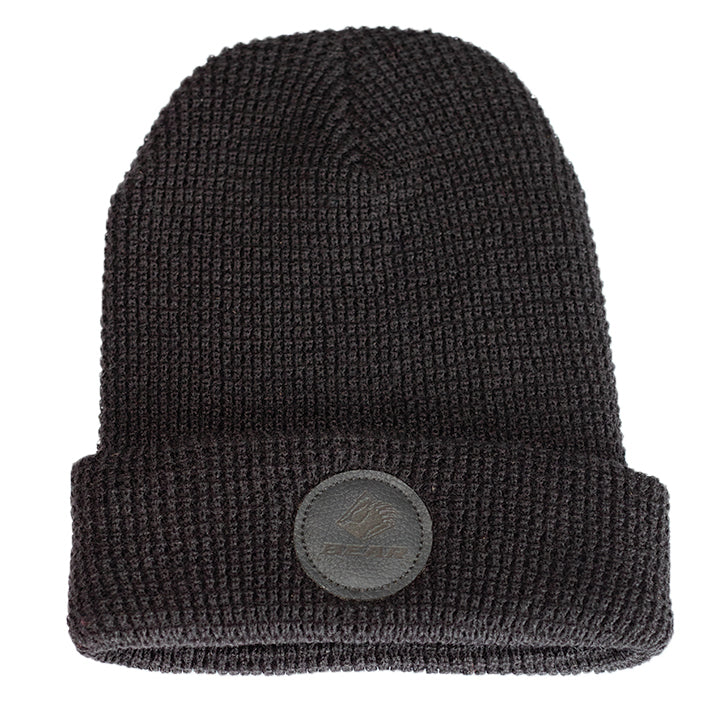 Bear Mountain Round Patch Logo Claw Beanie