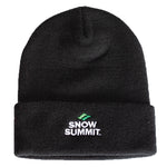 Snow Summit Embroidered Logo Beanie