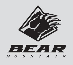 Black Bear Mountain Logo Sticker