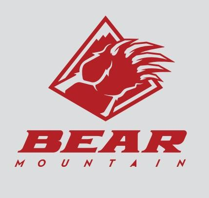 Red Bear Mountain Logo Sticker