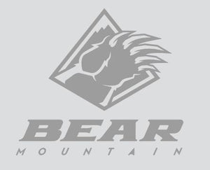 Silver Bear Mountain Logo Sticker