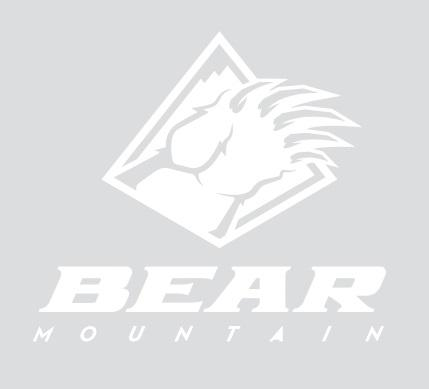 White Bear Mountain Logo Sticker