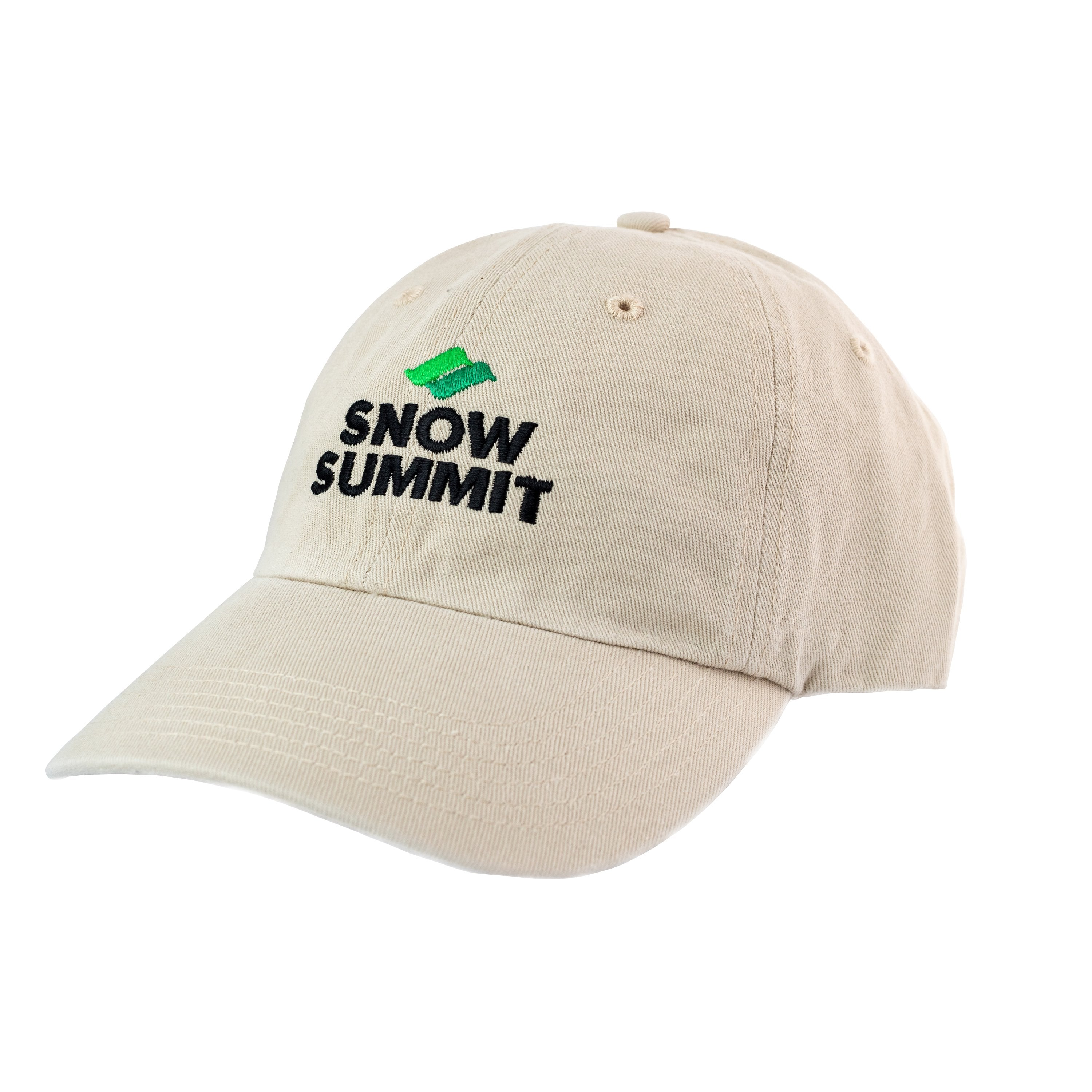 Stone Cap with Embroidered Snow Summit Logo