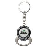 Snow Summit Bottle Opener with Spinning Dual Sided Logo