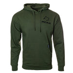 Army Green Hoodie with Bear Mountain Park Logo