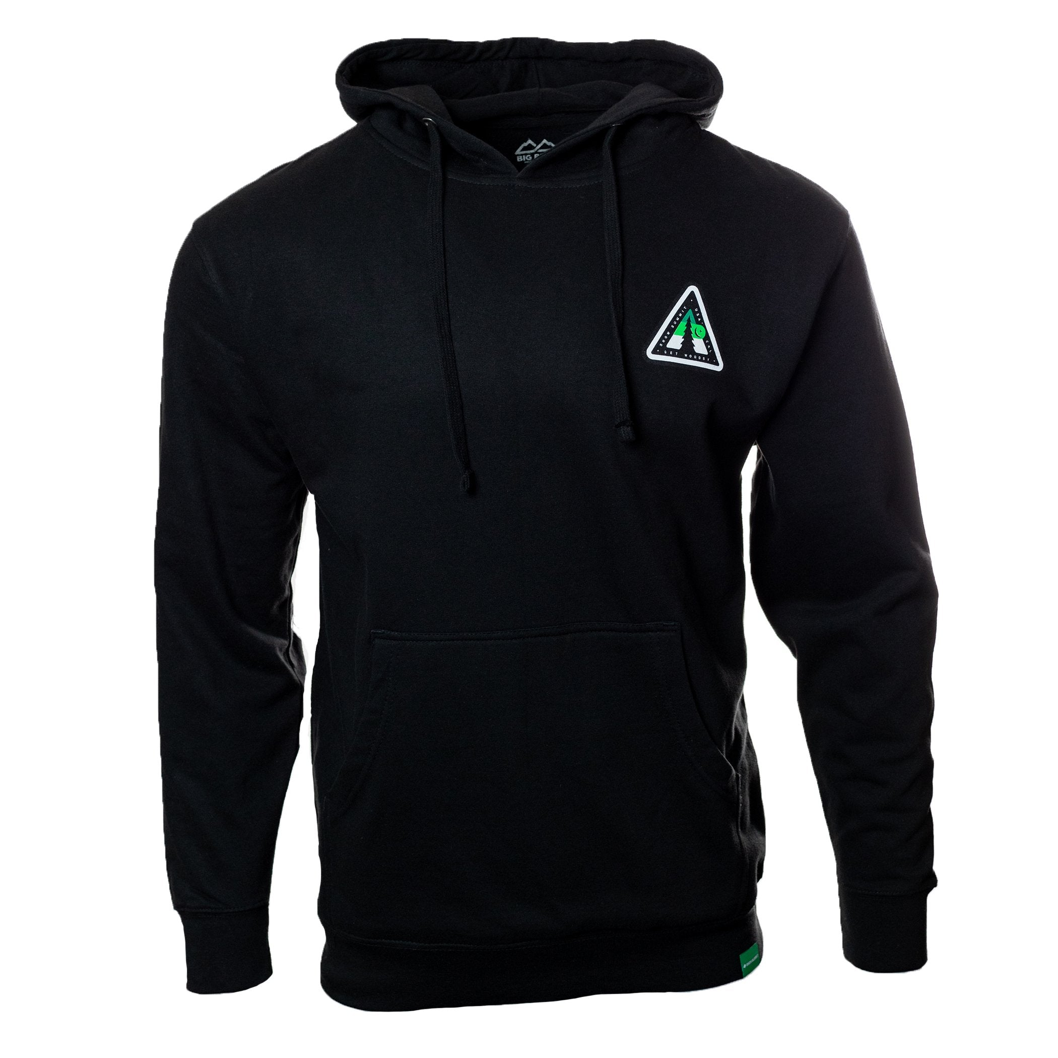 Black Hoodie with Snow Summit Woodsy Logo