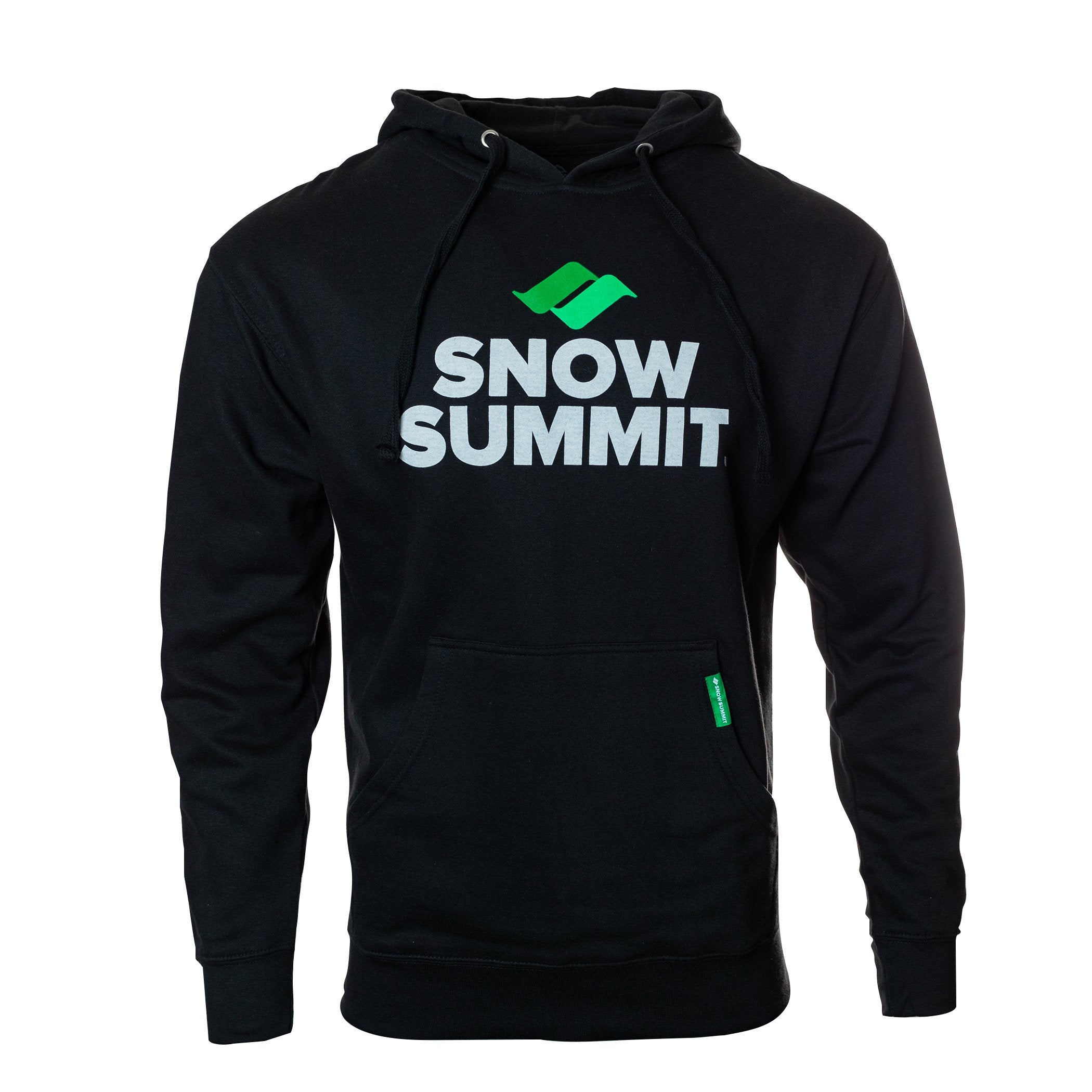 Black Hoodie with classic Snow Summit Big Logo