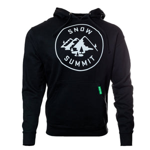 Black Hoodie with Snow Summit Alpine Logo