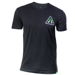 Black T-Shirt with Snow Summit Woodsy Logo