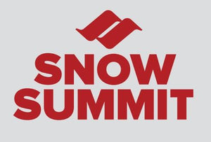 Red Snow Summit Logo Sticker