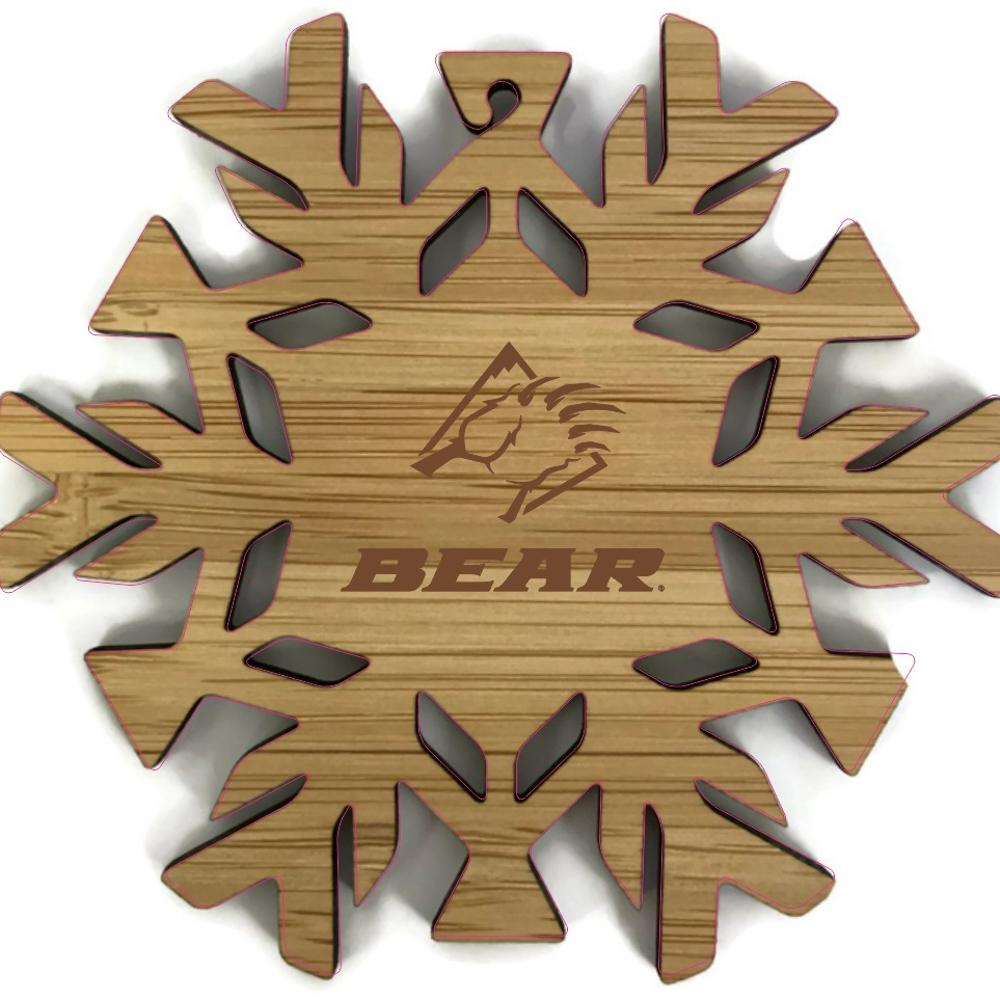Bear Mountain Snowflake Ornament