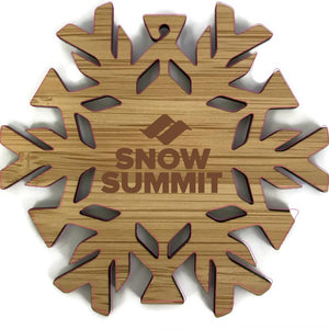 Snow Summit Snowflake Ornament