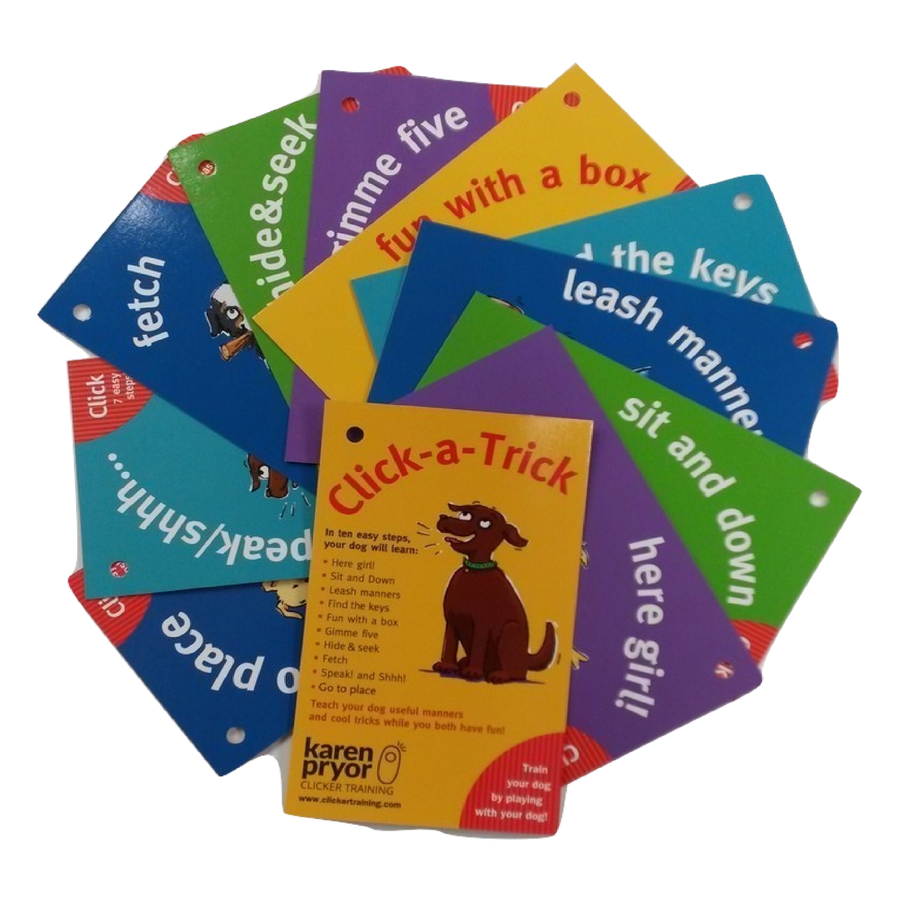 New & Improved! Click-A-Trick Cards