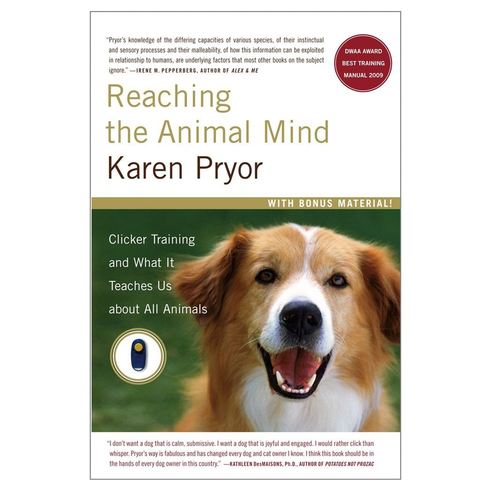 Reaching the Animal Mind - Paperback