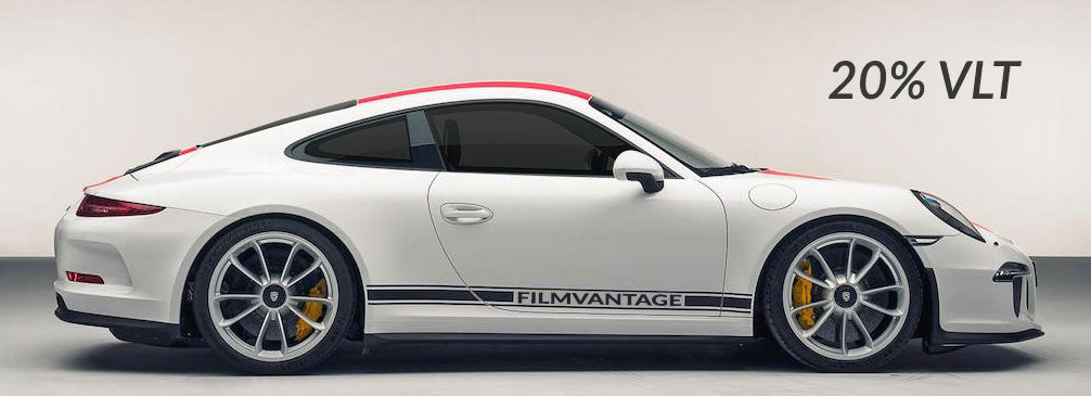 Filmvantage Black Box Automotive Window Tinting Film 20% Shade
