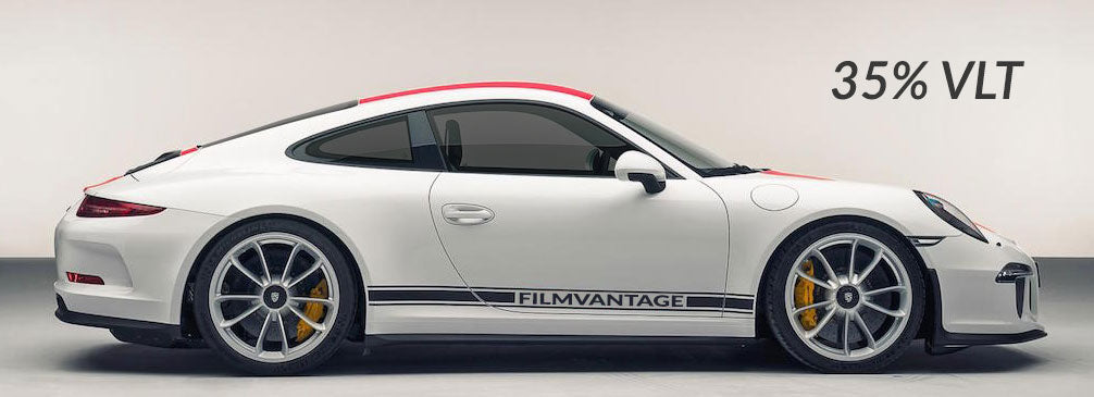 Filmvantage Black Box Automotive Window Tinting Film 35% Shade
