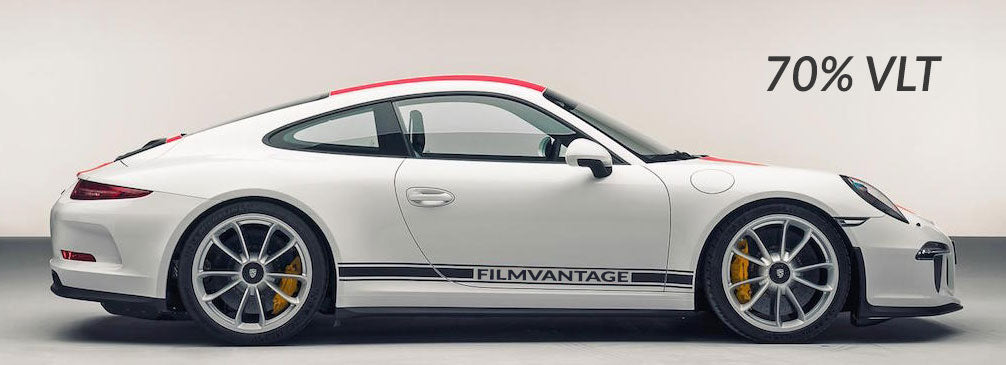 Filmvantage Black Box Automotive Window Tinting Film 70% Shade