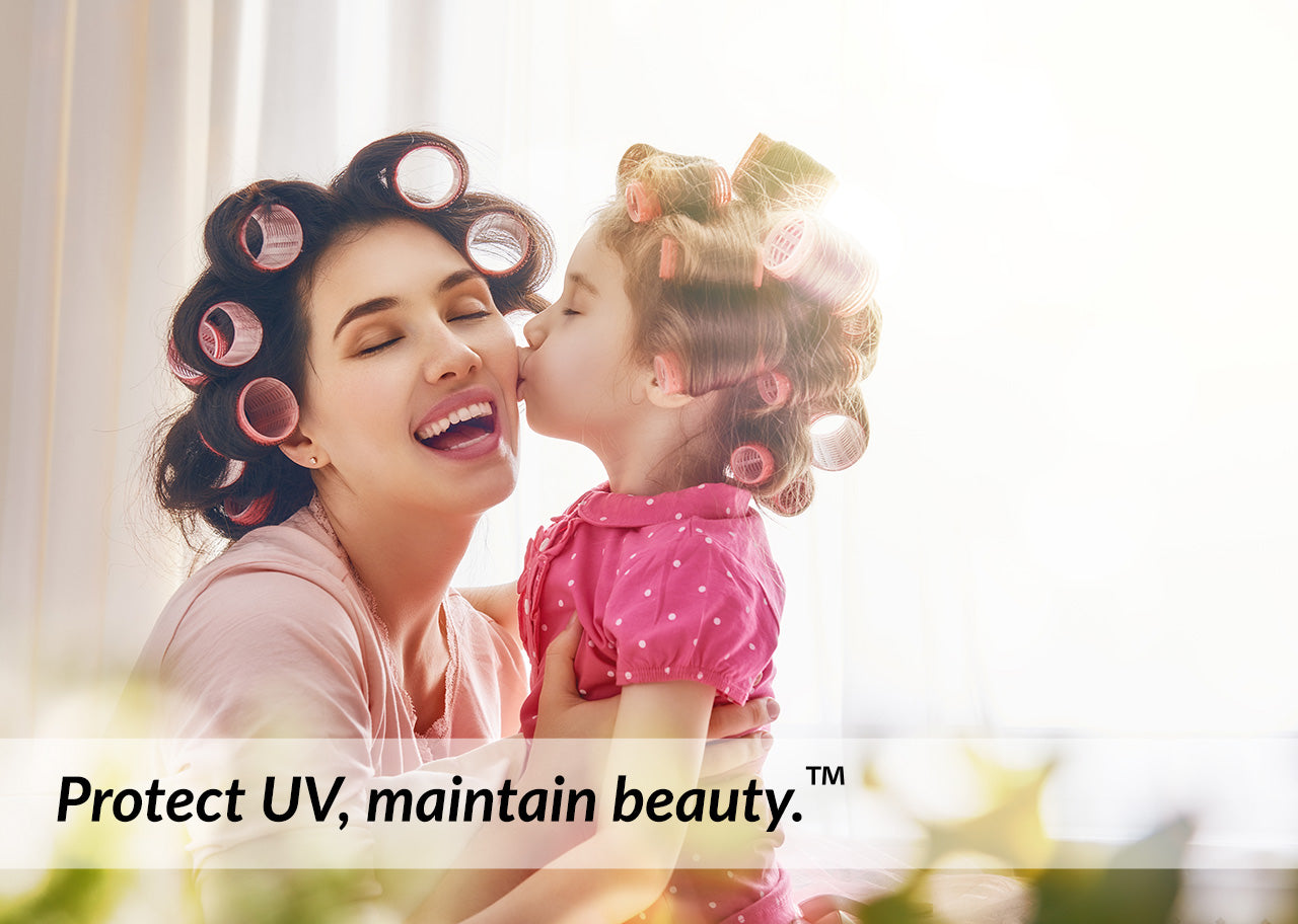 Filmvantage protect UV maintain beauty