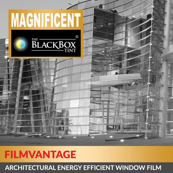 Magnificent 35 Medium Tinted Energy Efficient UV Rejection Home / Commercial Window Tint Film Roll