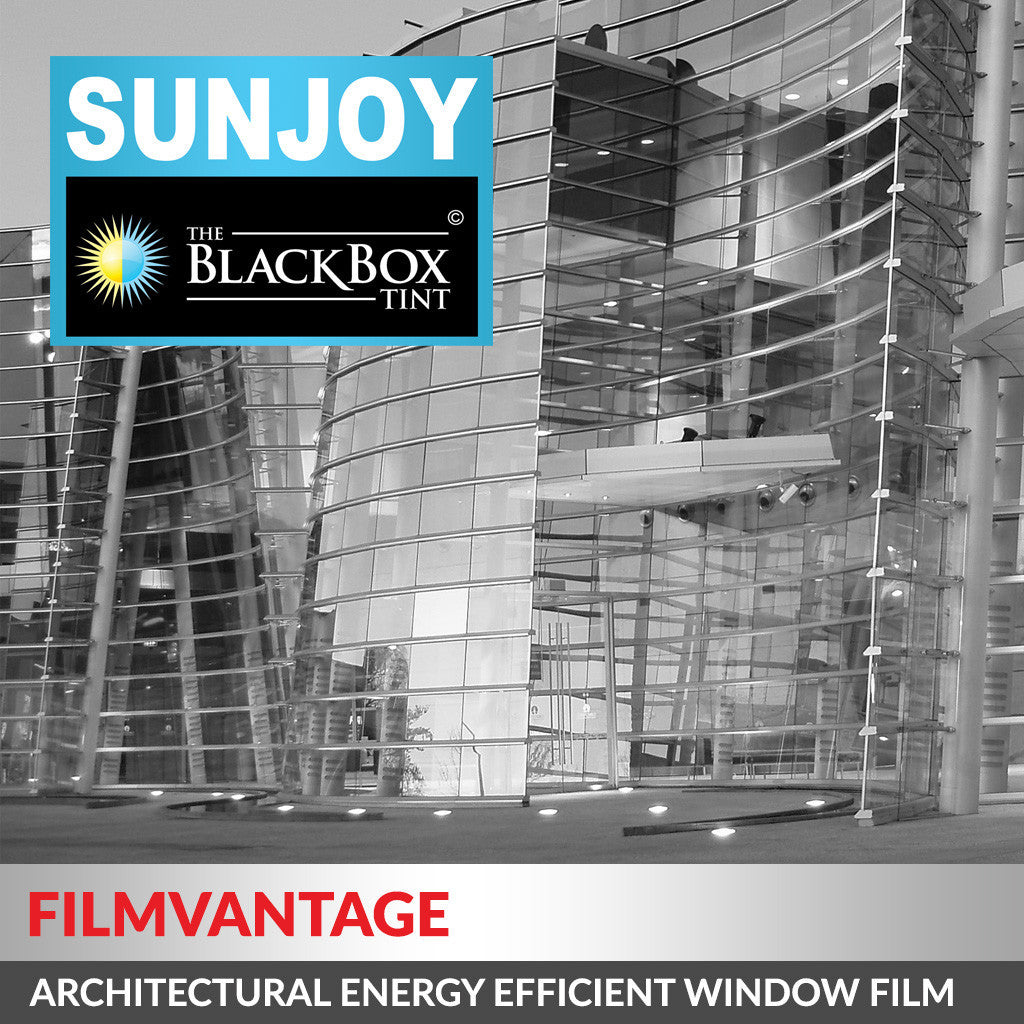 SunJoy 35 Medium Tinted Energy Efficient UV Rejection Home / Commercial Window Tint Film Roll