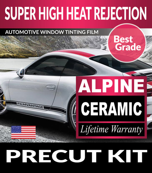 Alpine Ceramic PreCut Window Tint Film For Toyota