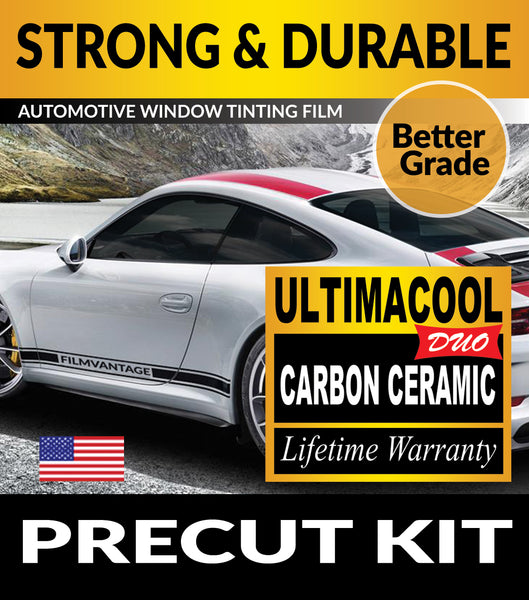 UltimaCool DUO Carbon Ceramic PreCut Window Tint Film For Automotive Tinting