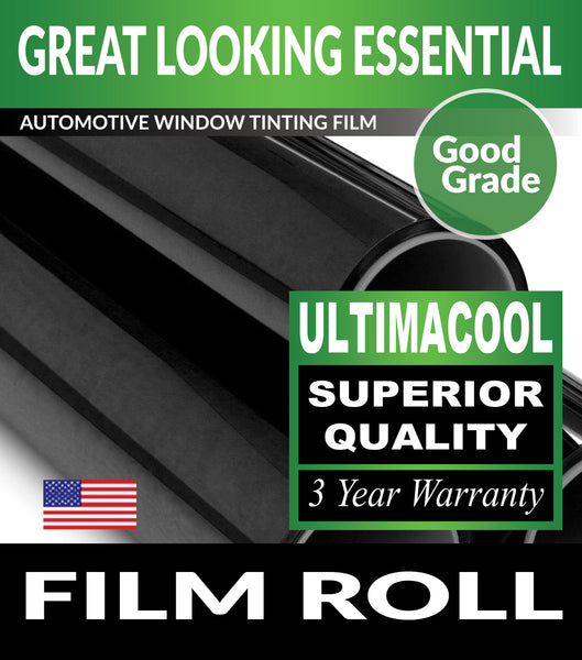 UltimaCool Window Tint Film UnCut Roll For Automotive Tinting
