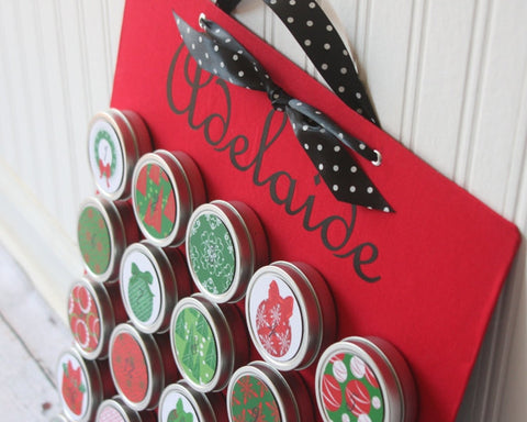 Personalized Reusable Christmas Advent Calendar 1