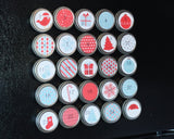 Red and Blue Reusable Christmas Advent Calendar 5