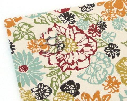 magnet-board-18-inch-x-24-inch-no-frame-warm-flowers-on-off-white-fabric