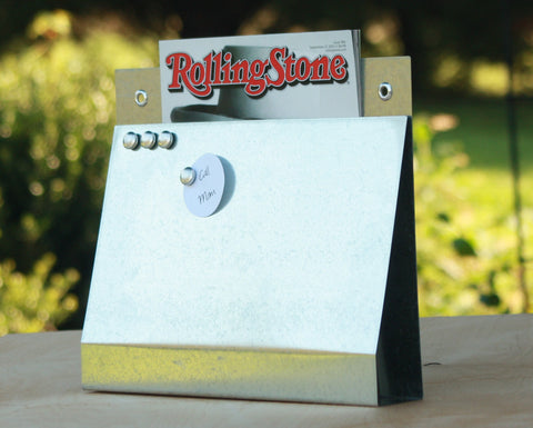 uncovered-wall-pocket-magnet-board-file-and-mail-holder-galvanized-steel