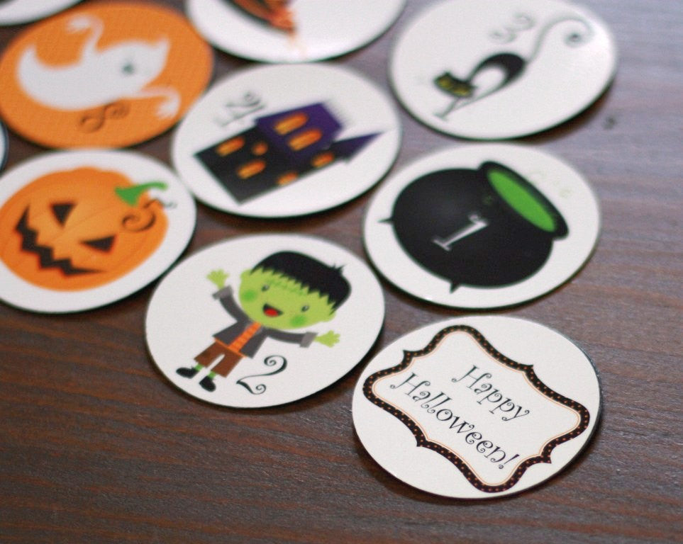 halloween-countdown-magnet-set