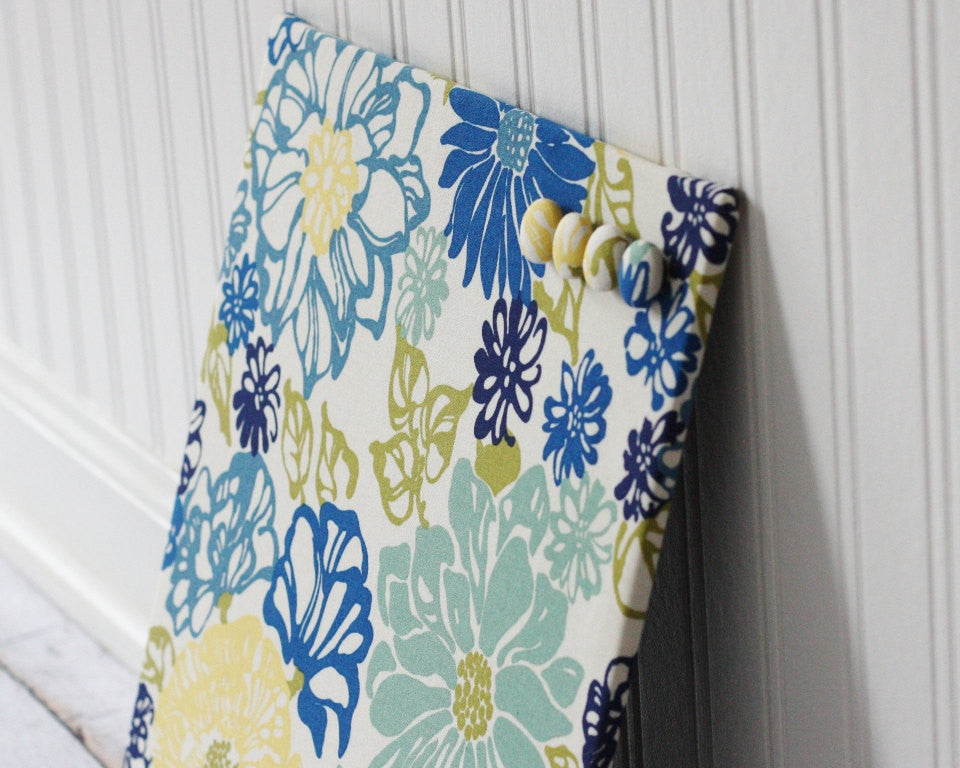 fabric-covered-magnet-board-12-inch-x-12-inch-covered-in-blue-and-yellow-floral-fabric