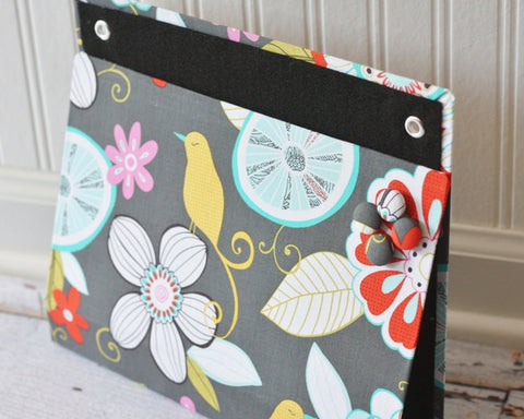 large-wall-organizer-pocket-magnet-board-file-and-mail-holder-tweet-birdie-tweet-fabric