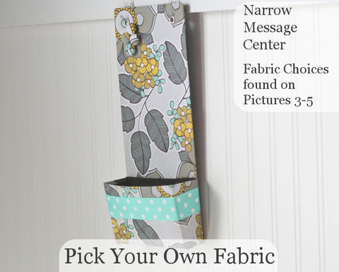 pick-your-own-fabric-narrow-message-center-magnet-board-with-closed-pocket