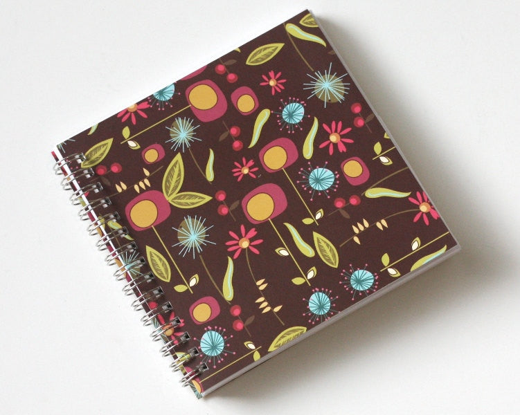 small-coupon-organizer-with-14-pockets-pre-printed-labels-included-brown-with-colorful-flowers